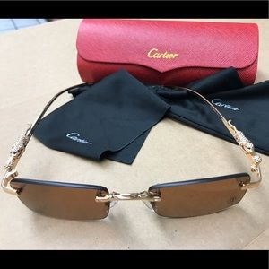 Cartier Accessories - Cartier Sunglasses NEW!